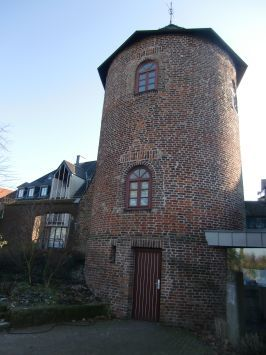 Xanten : Rundturm am Nordwall
