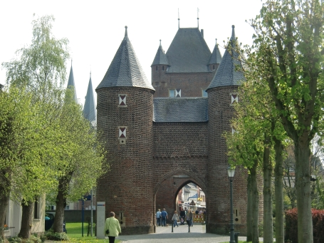 Xanten : Klever Tor am Nordwall